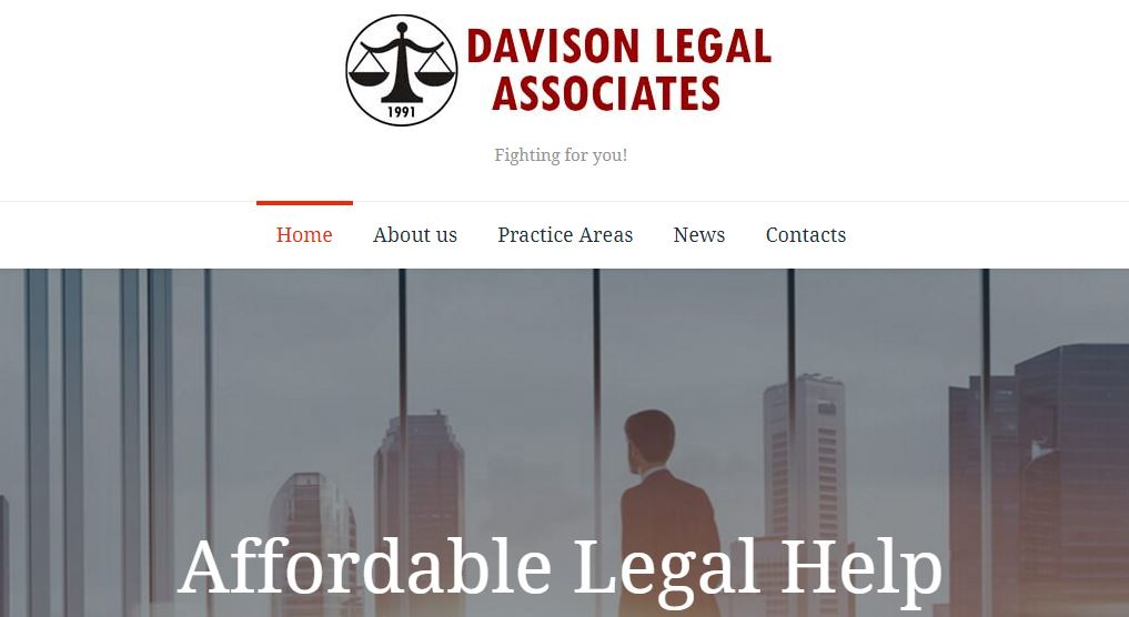 davison legal website